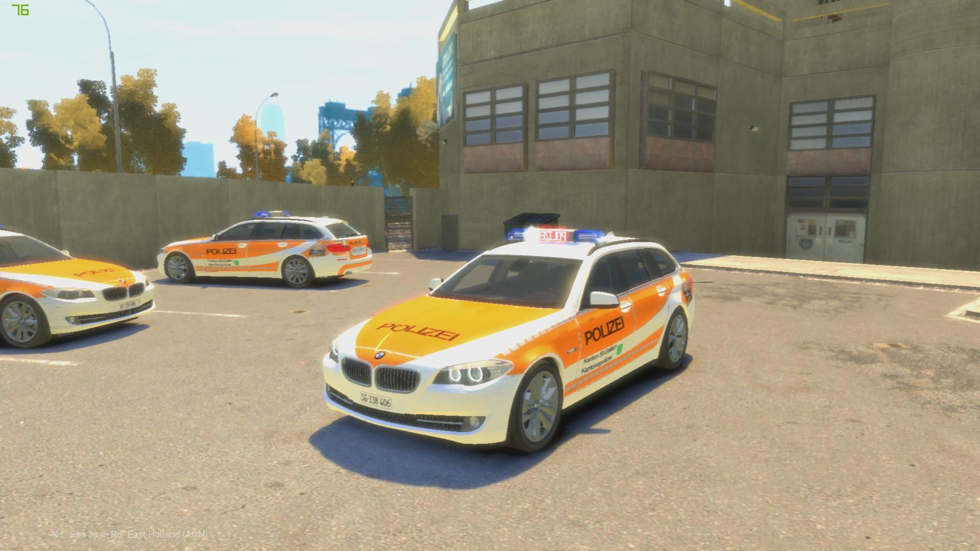 Dateien » [IV] BMW 5er F11 FuStW Police Polizei Kapo ...